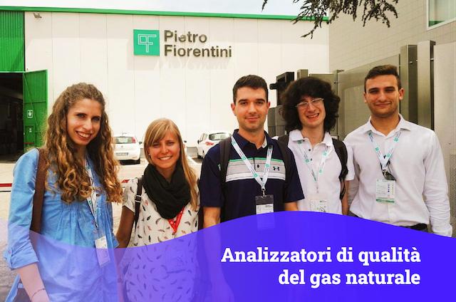 Analizzatori di qualità del gas naturale – Pietro Fiorentini